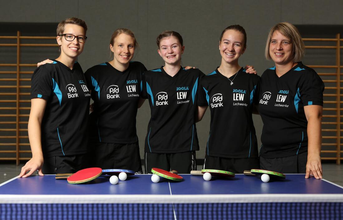 1 TT Damen Post SV Tischtennis 2016-2017