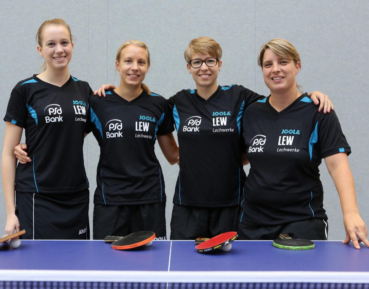 1 TT Damen PostSV Tischtennis Augsburg