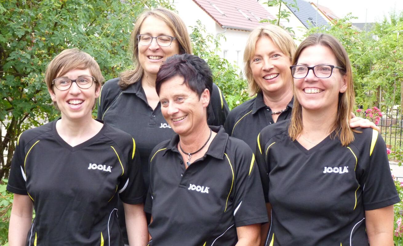 Post SV Augsburg Damenmannschaft 2