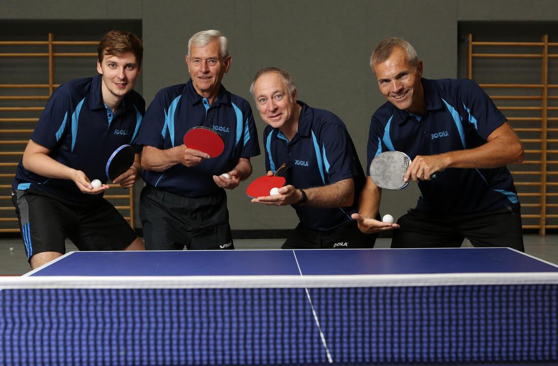 Herren4 2015-16 Post SV Augsburg Tischtennis
