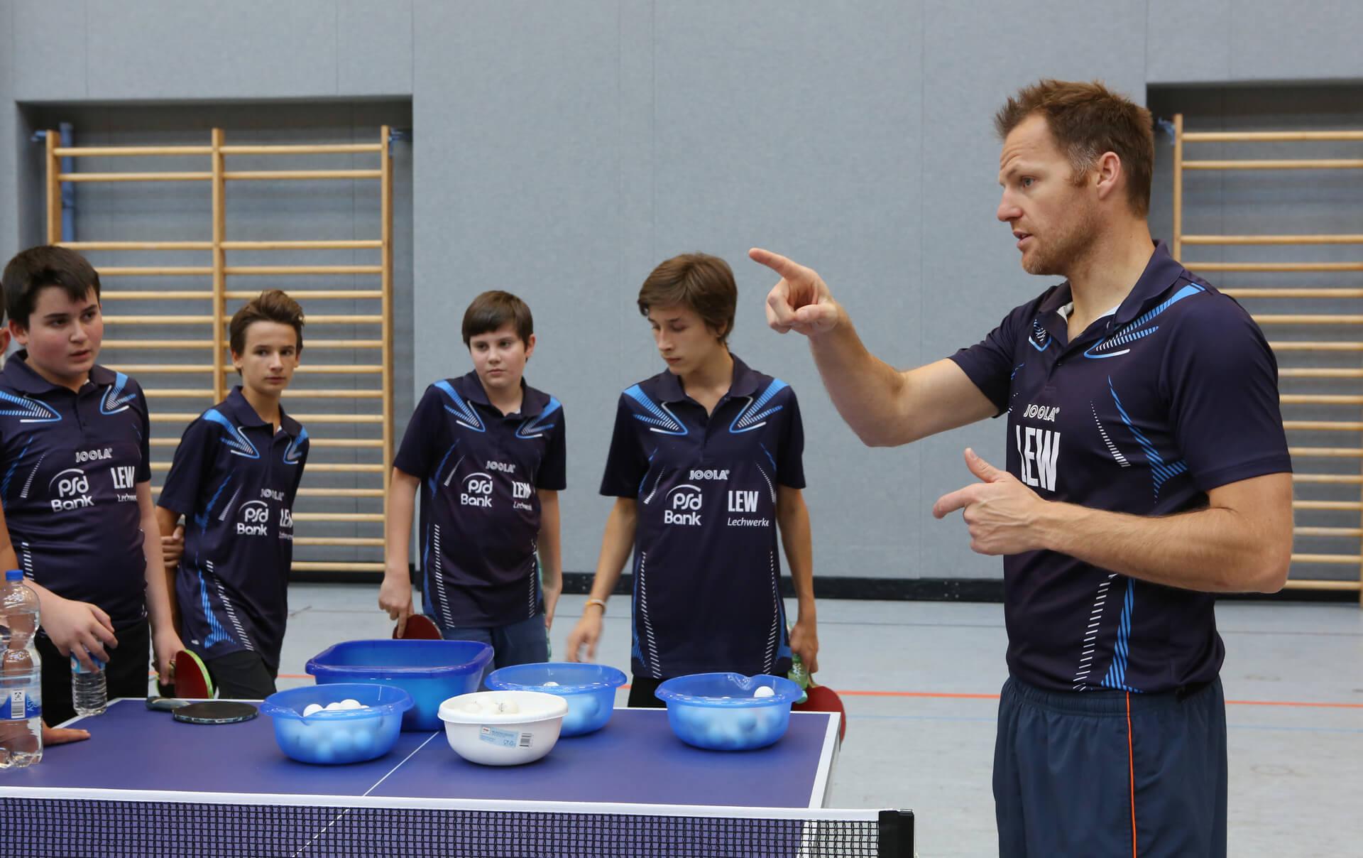 Tischtennis Jugendtraining 1