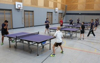 Tischtennis Jugendtraining 4