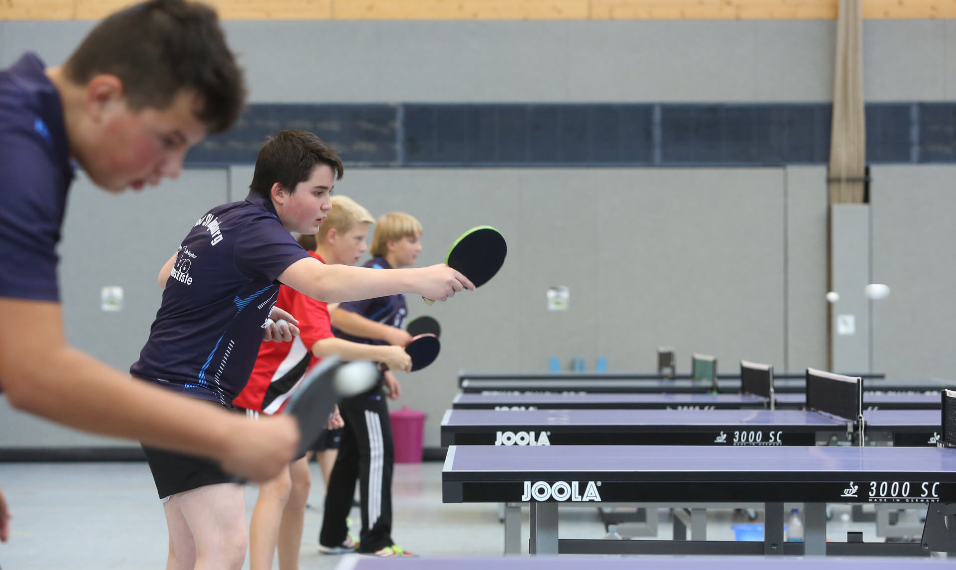 Tischtennis Jugendtraining 5