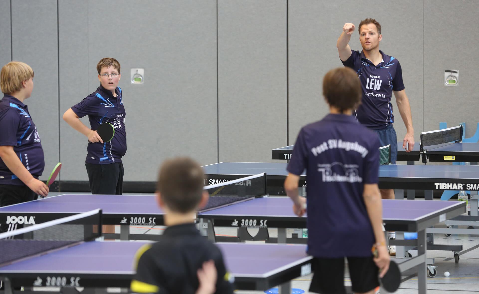 Tischtennis Jugendtraining 6