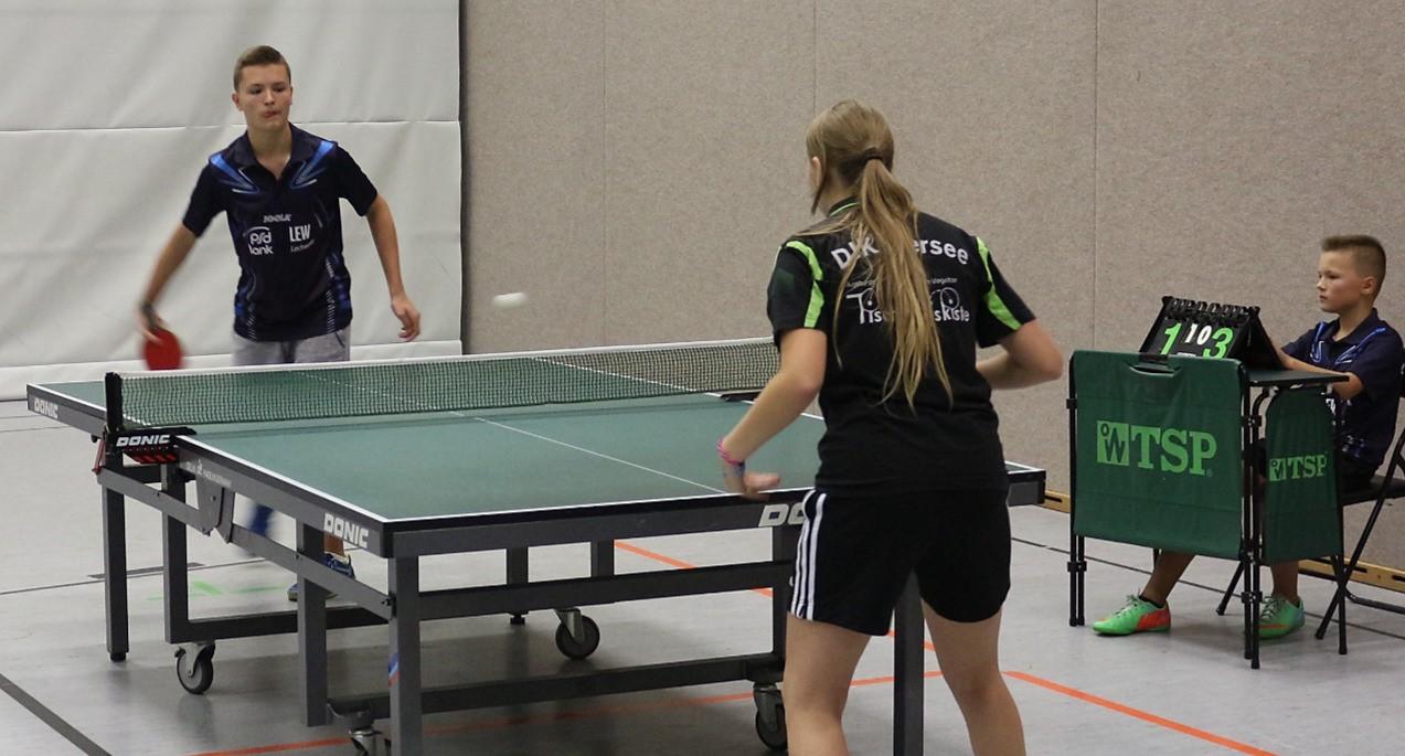 Tischtennis Augsburg, Jugend Post2 - Pfersee