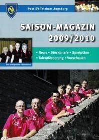 Saisonmagazin Post SV Augsburg Tischtennis 2009-2010