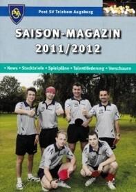 Saisonmagazin Post SV Augsburg Tischtennis 2011-2012