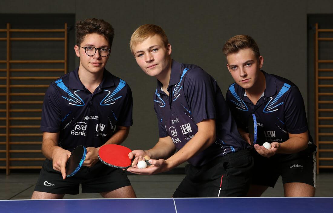 1. Jugendmannschaft Post SV Augsburg Tischtennis