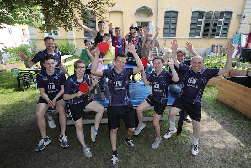 Len Augsburg wir fördern talente tischtennis beim stadtjugendring sjr augsburg