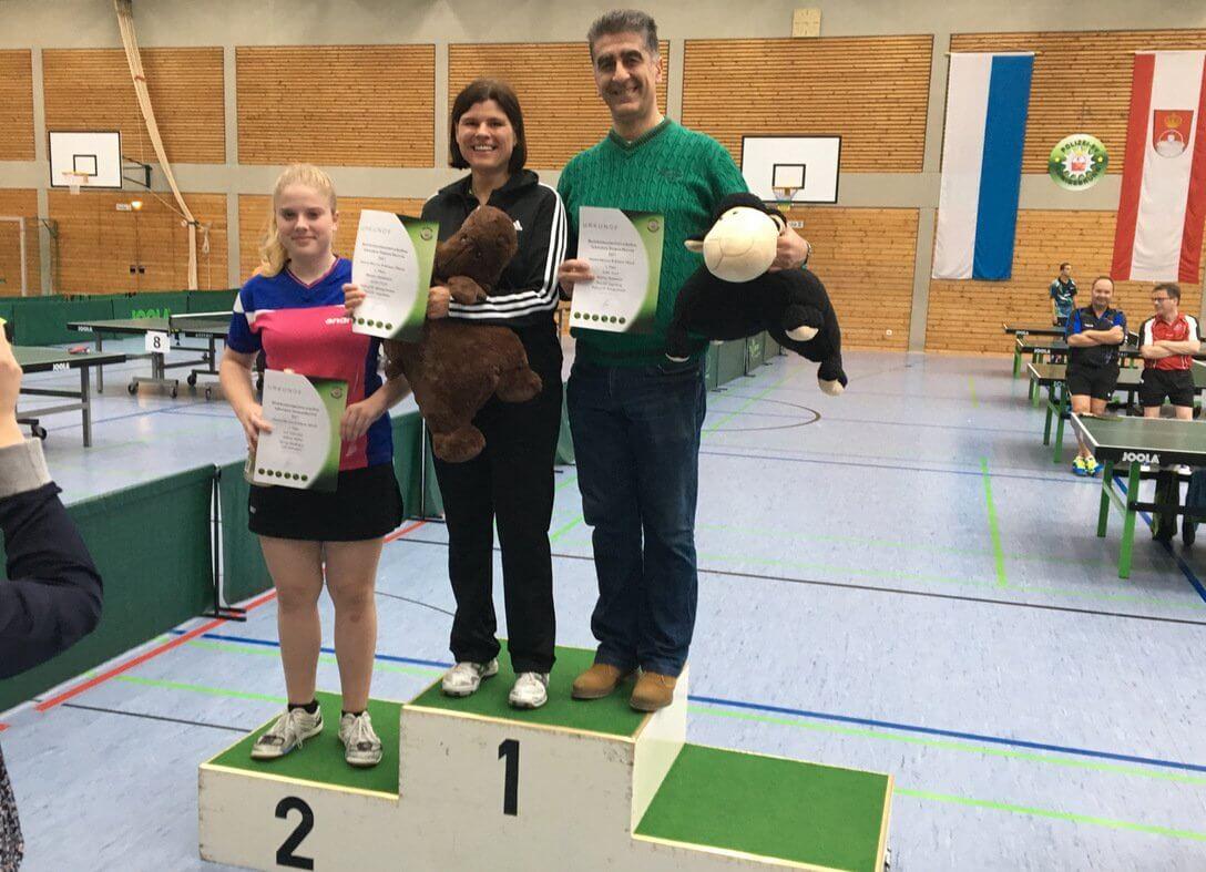 2017.10 Bezirksmeister Mixed Axdin Tezel