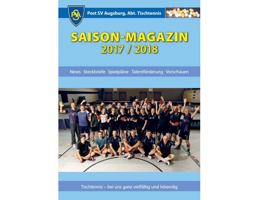 Saisonmagazin 2017-2018