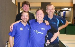 TT Turnier Mindelheim 2.Platz Frank Sommerrock mit Rainer Ruff