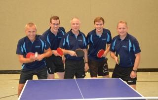 Tischtennis 3. Herrenmannschaft Post SV Augsburg 9.2018