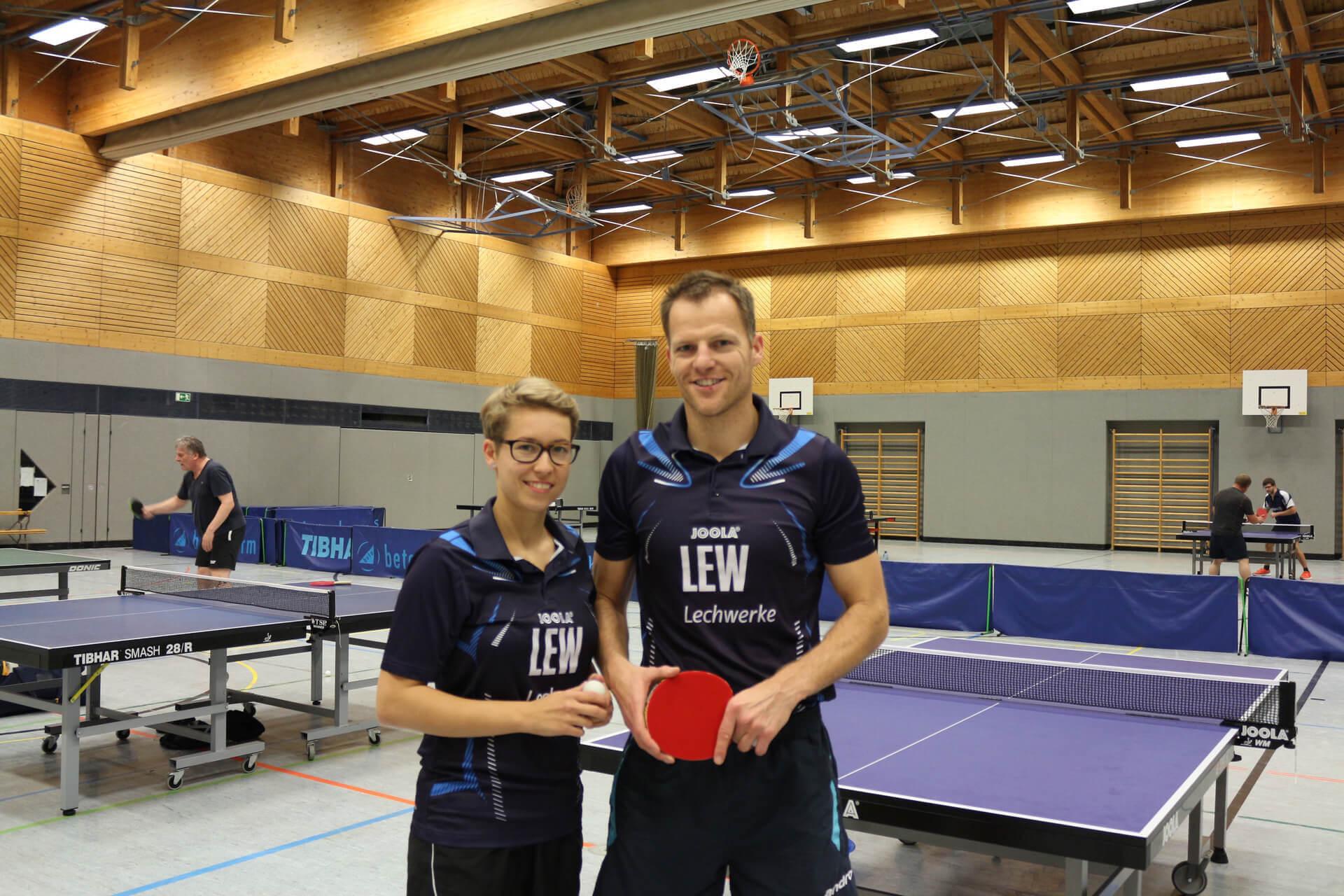 Jugendtrainer Nikola und Olli