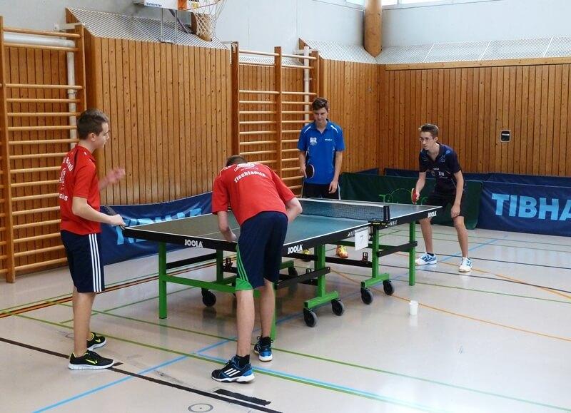Jugend: TT Kreismeisterschaften der Jugend in Bobingen