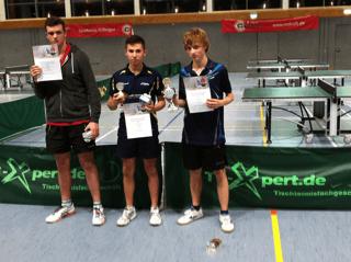2015-11-15 Max Püschel Schwäbischer Jugendmeister im Tischtennis