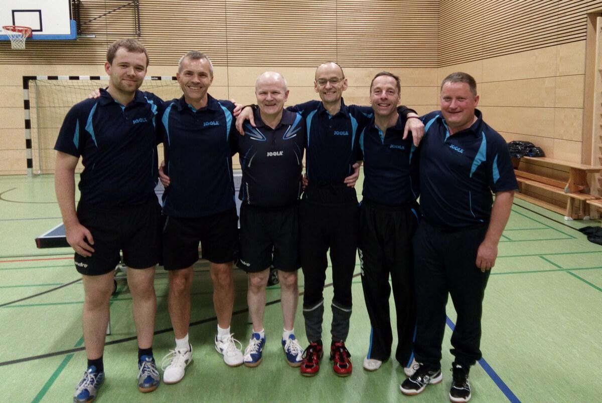 Tischtennis Post SV3 gegen Thannhausen