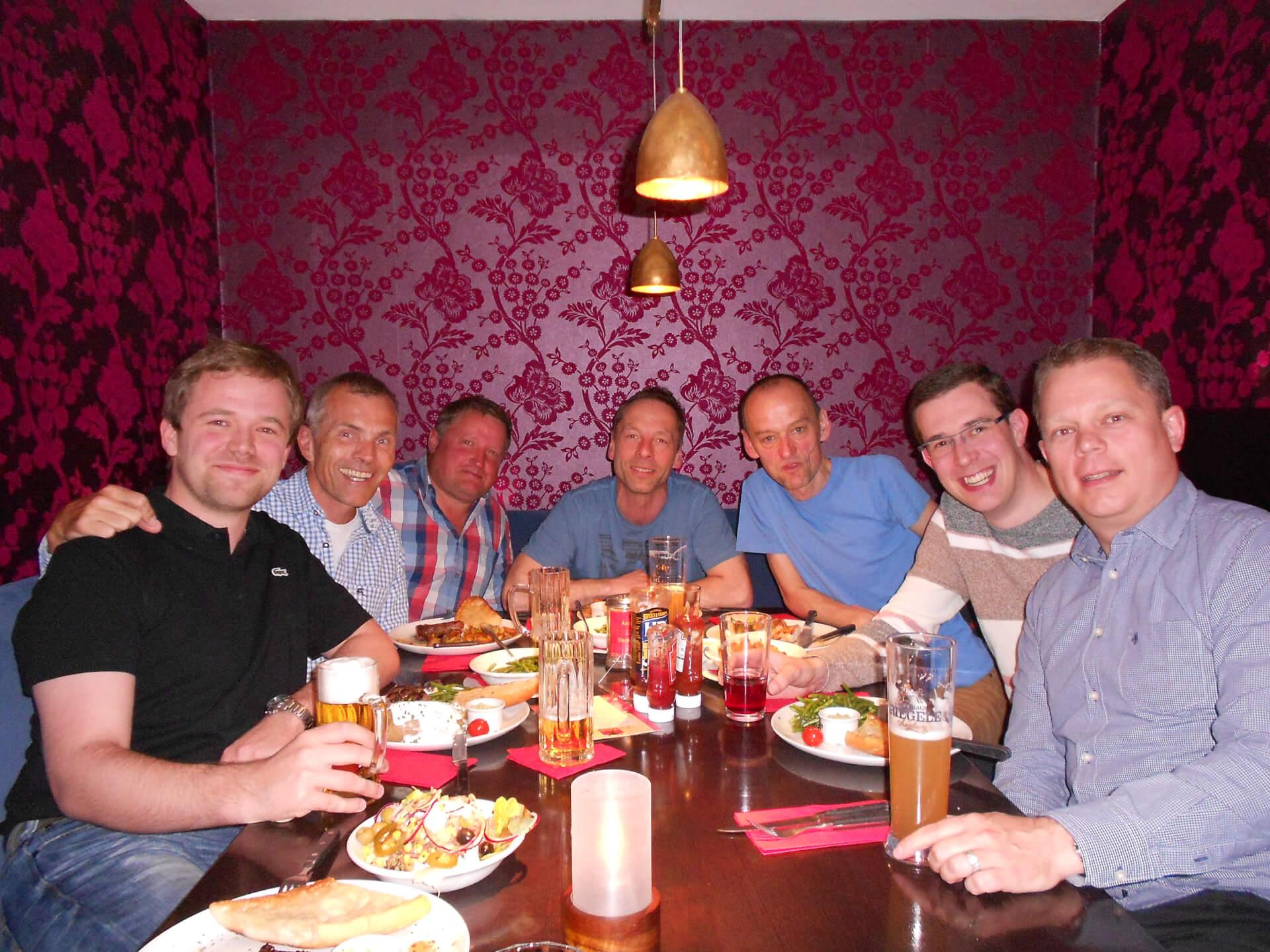Steffen Arnecke, Rainer Ruff, Josef Kerler, Günter Mayr, Gerhard Vachlahovsky, Tobias Wille, Ulf Kiesewetter