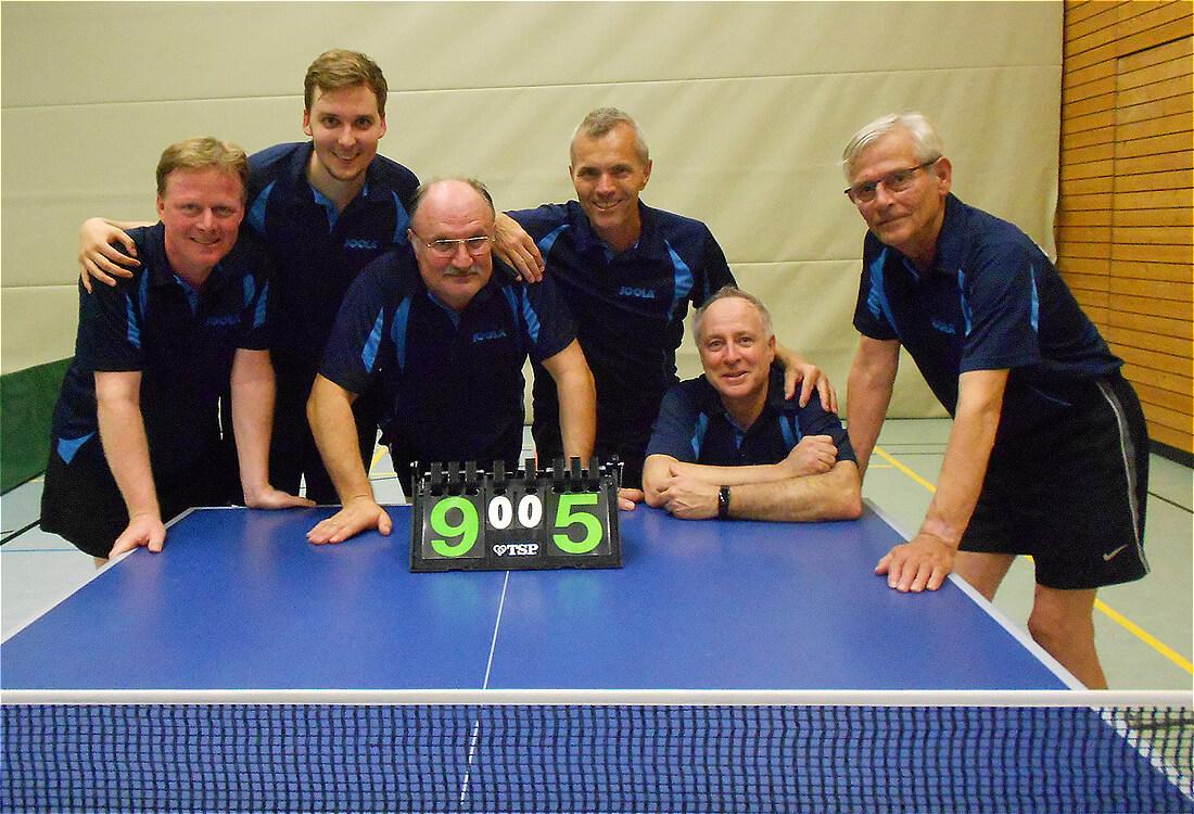 Post4 Mannschaftsbild Tischtennis Augsburg